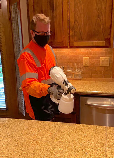 COVID-19 disinfection services around Sunriver, OR